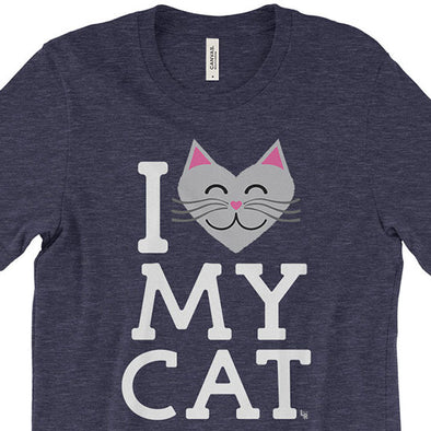 """I Love My Cat"" Unisex T-Shirt"
