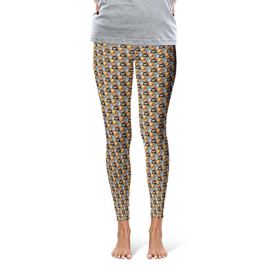 """Adopt, Don't Shop."" Cat and Dog Printed Leggings"