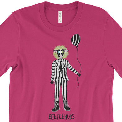 """Beetlemoos"" Halloween Cow Unisex T-Shirt"