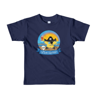 """Captain Starrr!"" Little Kids T-Shirt"