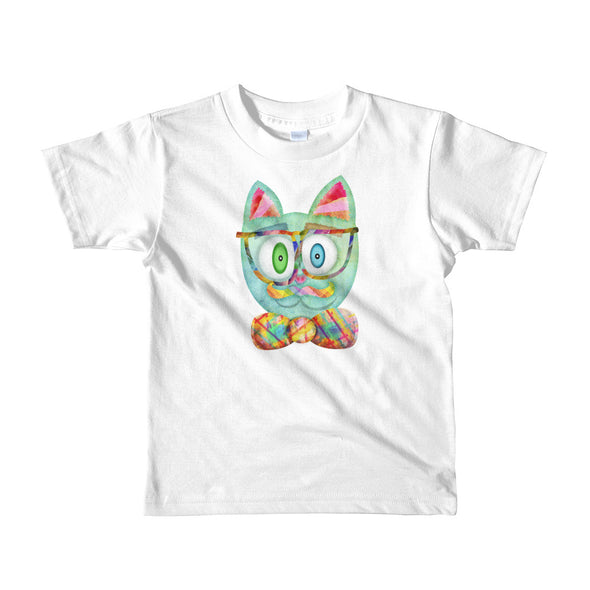 """Intellecat"" Little Kids T-Shirt"