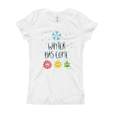 """Winter Has Come"" Girl's T-Shirt"