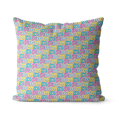 """Candy Cats"" Premium Throw Pillow Cover"