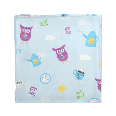 """Mornings Are a Hoot - I Am Not a Night Owl!"" Scarf"