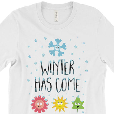 """Winter Has Come"" Unisex T-Shirt"