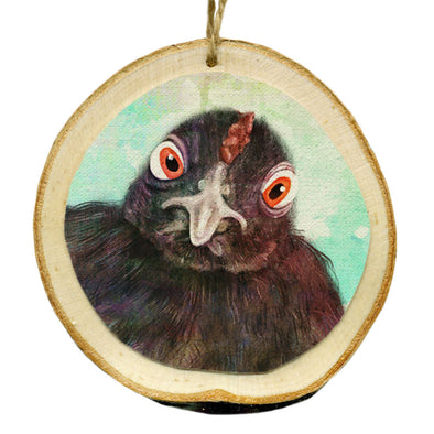 Vegan Wood Ornaments - Indraloka Animal Sanctuary