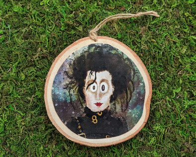"""The Original Edward"" Whimsical Wood Holiday Ornament"