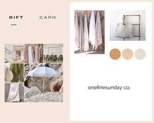 GIFT CARD-Gift Card-onefinesunday co