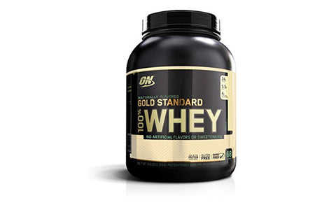 GOLD STANDARD 100% NATURAL WHEY - 4.8LB