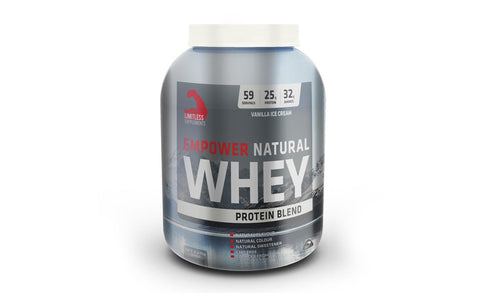 LIMITLESS EMPOWER NATURAL PROTEIN - 2.27KG