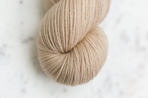 Sepia Tan | Fingering Sustainable New Merino