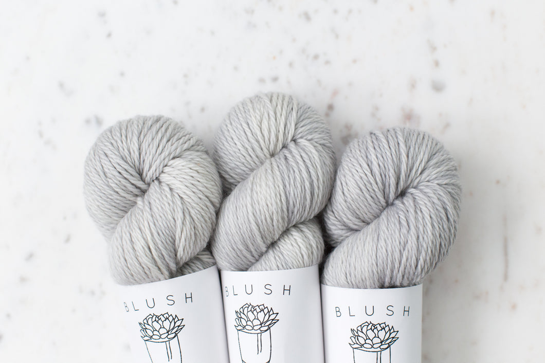 Silver Gray | Worsted SW Merino