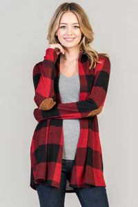 Sweet As Plaid Cardigan - Brooke & Kat Boutique