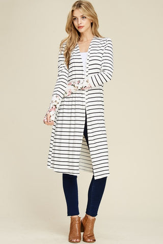 PREORDER Lottie Stripe Cardigan