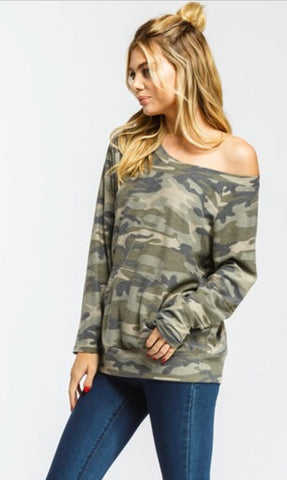 Sierra Camo Sweater