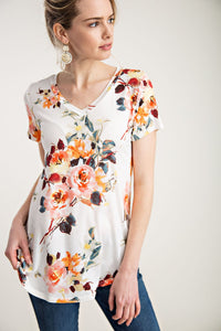 Unforgettable Floral Summer Tee