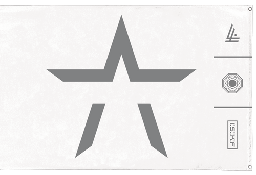DIVISIONS WALL FLAG - STARSET Merchandise