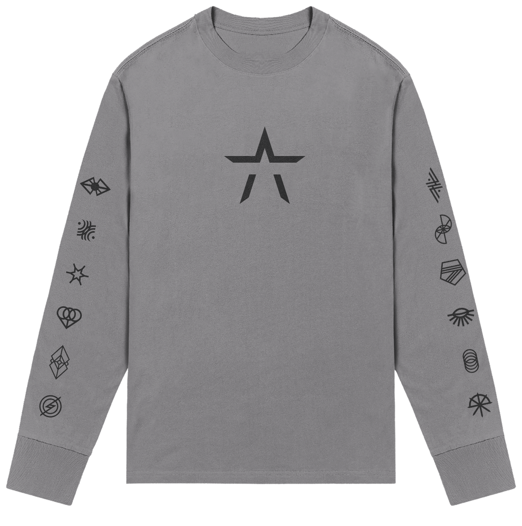 DIVISIONS SINGLES LONG SLEEVE T - STARSET Merchandise