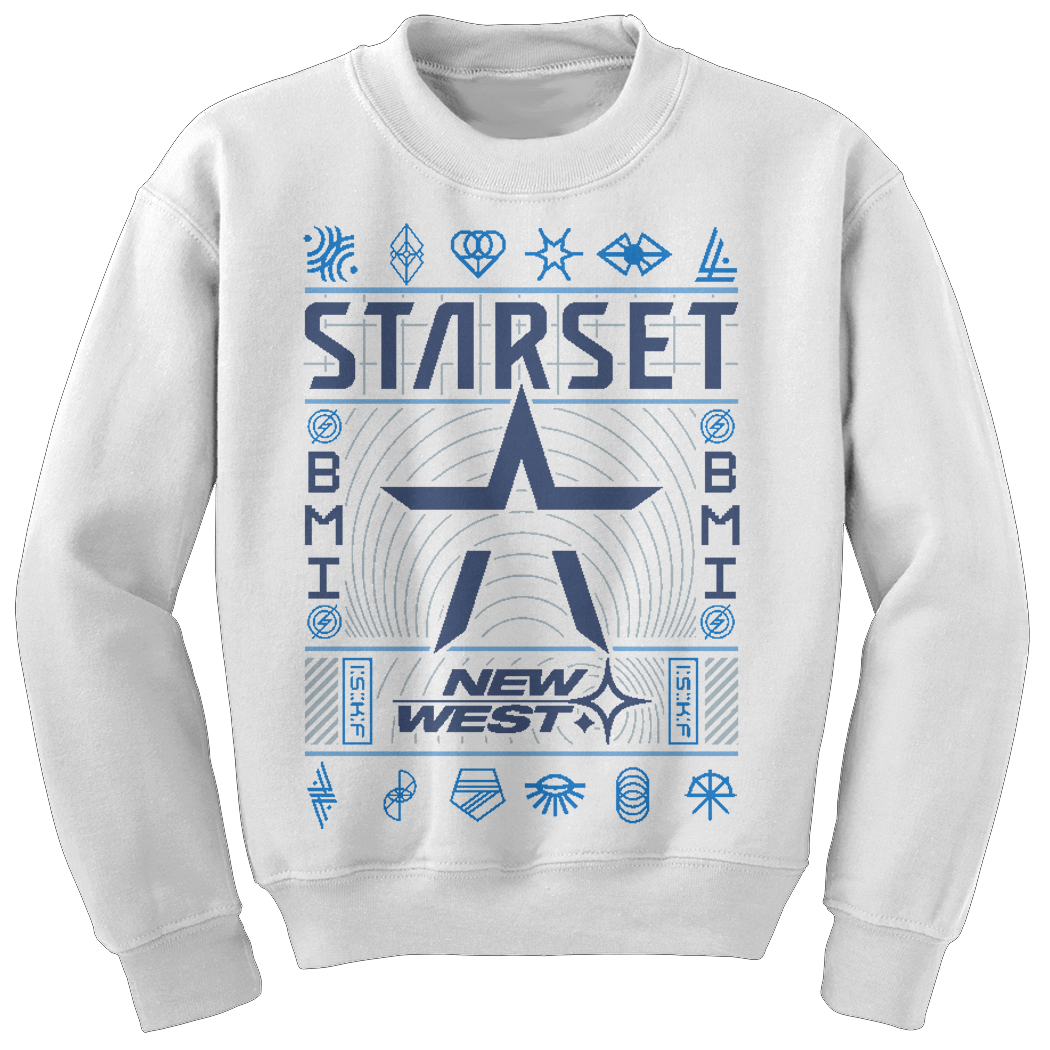 **Limited Edition** NEW WEST HOLIDAY SWEATER