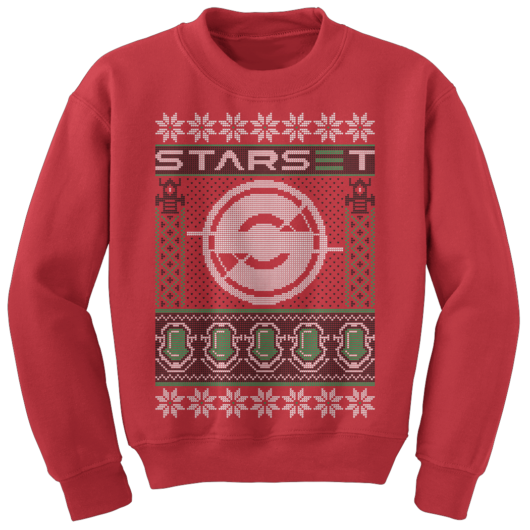 **Limited Edition** STARSET S LOGO HOLIDAY SWEATER - STARSET Merchandise