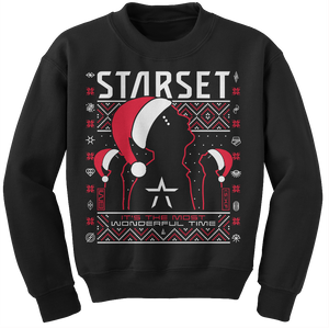 **LIMITED EDITION** WONDERFUL TIME HOLIDAY SWEATER