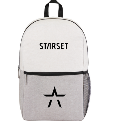 STAR LOGO BACKPACK - STARSET Merchandise