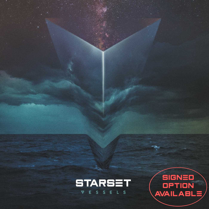 VESSELS CD - STARSET Merchandise