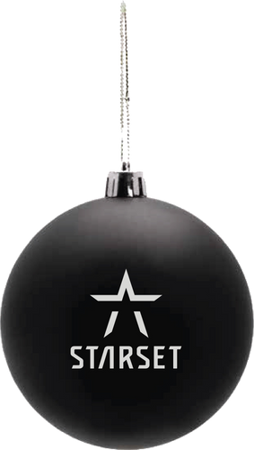 STARSET LOGO ORNAMENT