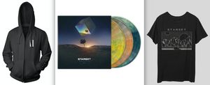 VESSELS 2.0 LP, DivisionT & Faction Hoodie Bundle - STARSET Merchandise