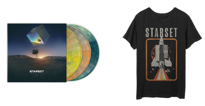 VESSELS 2.0 LP & ShuttleT Bundle - STARSET Merchandise