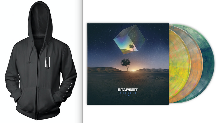 VESSELS 2.0 LP & Faction Zip Hoodie - STARSET Merchandise