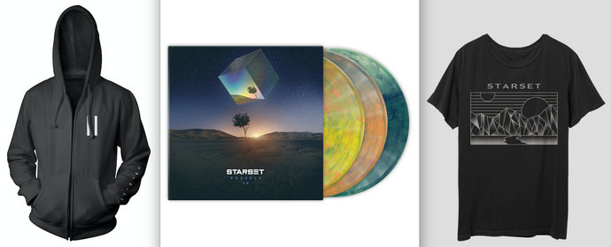 VESSELS 2.0 LP, Division T & Faction Hoodie Bundle - STARSET Merchandise