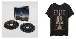 VESSELS 2.0 CD & ShuttleT Bundle - STARSET Merchandise