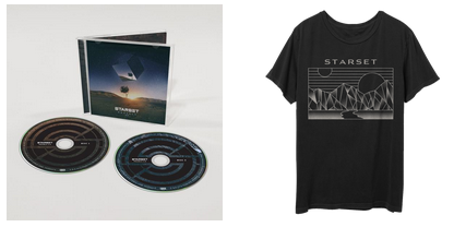 VESSELS 2.0 CD & DivisionT Bundle - STARSET Merchandise