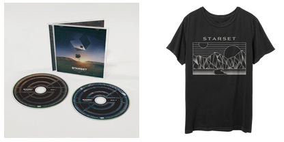 VESSELS 2.0 CD & Division T Bundle - STARSET Merchandise