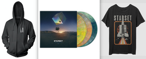 VESSELS 2.0 LP, Shuttle T & Faction Hoodie Bundle - STARSET Merchandise
