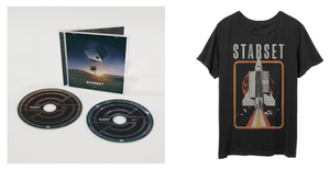 VESSELS 2.0 CD & Shuttle T Bundle - STARSET Merchandise