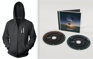 VESSELS 2.0 CD & Faction Zip Hoodie Bundle - STARSET Merchandise