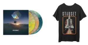 VESSELS 2.0 LP & Shuttle T Bundle - STARSET Merchandise