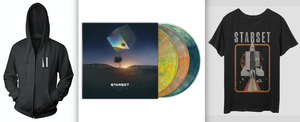 VESSELS 2.0 LP, ShuttleT & Faction Hoodie Bundle - STARSET Merchandise
