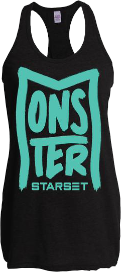 MONSTER - FEMALE TANK - STARSET Merchandise