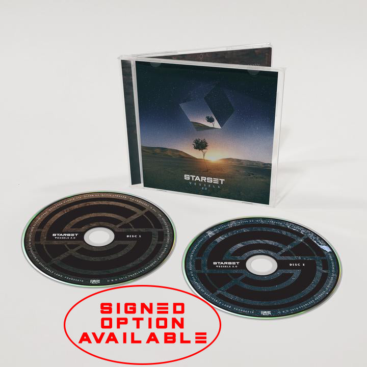VESSELS 2.0 CD - STARSET Merchandise