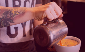 Coffeebar bakerymenlorenosquawtruckee: Press Start for Latte Art