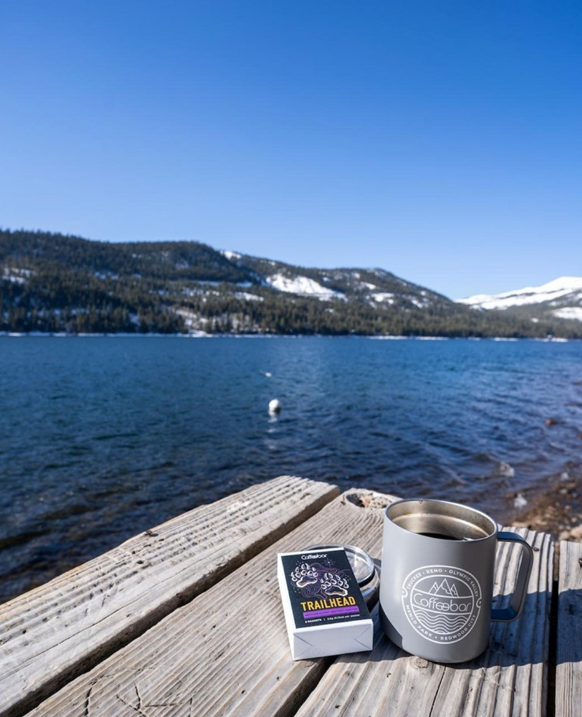 Coffee by Donner Lake