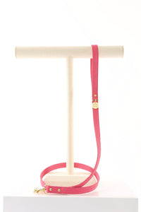 Glitz n Gold Rockstud Pink Dog Leash
