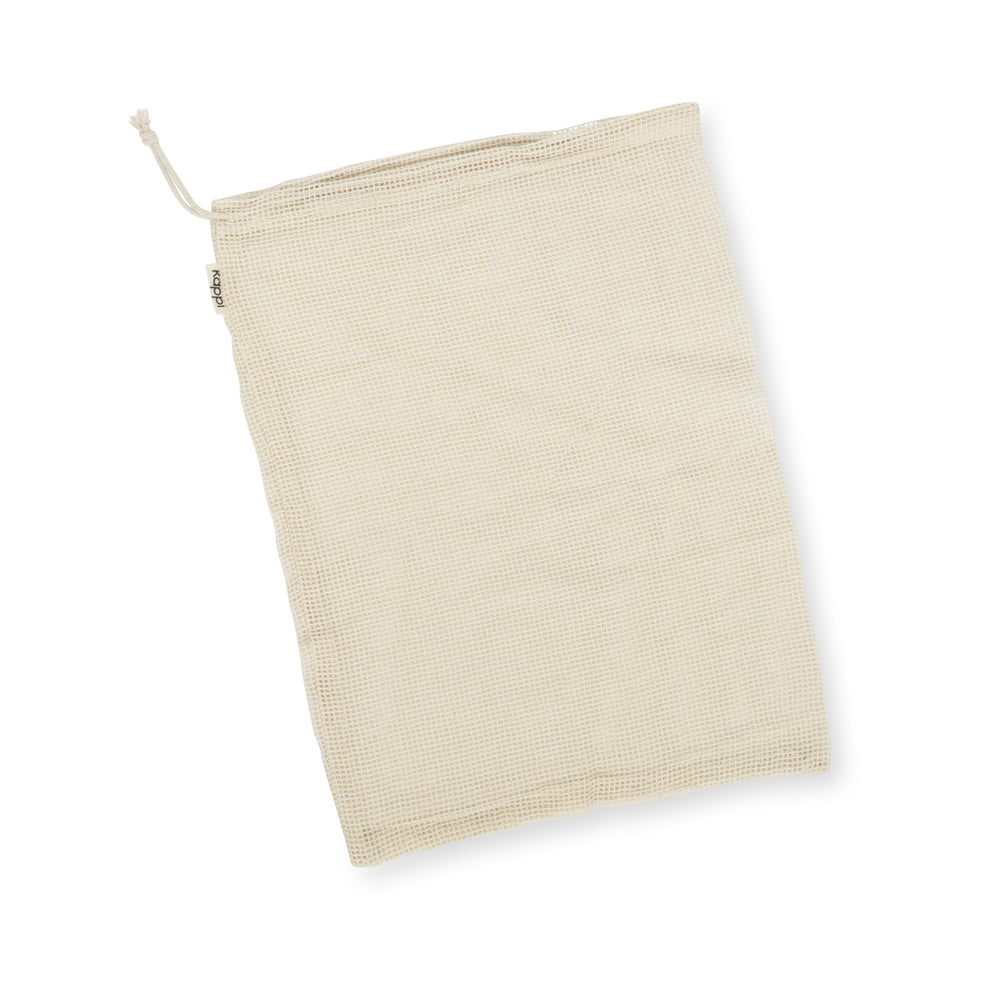 Reusable Mesh Produce Bags - Organic Cotton 3-Pack