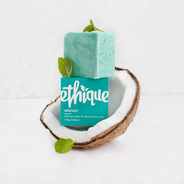 Solid Shampoo Bar for Normal to Dry Hair: Mintasy