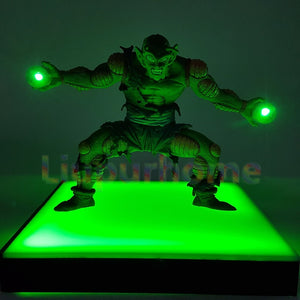 Figurine lampe LED / Dragon Ball Z Piccolo Kamehameha Led - kadopascher.com