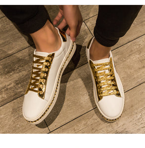 Chaussures cuir luxe chic hommes / Chaussures Décontractées / Baskets Cool Street Hommes / Chaussures Marque / Homme Chaussures Baskets Casual Sport - kadopascher.com