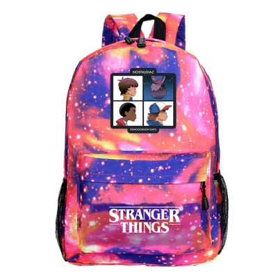 STRANGER THINGS Sac a dos 2020 / Stranger things 3 Children Kid's School Bag Toys Anime America TV STRANGER THINGS - kadopascher.com